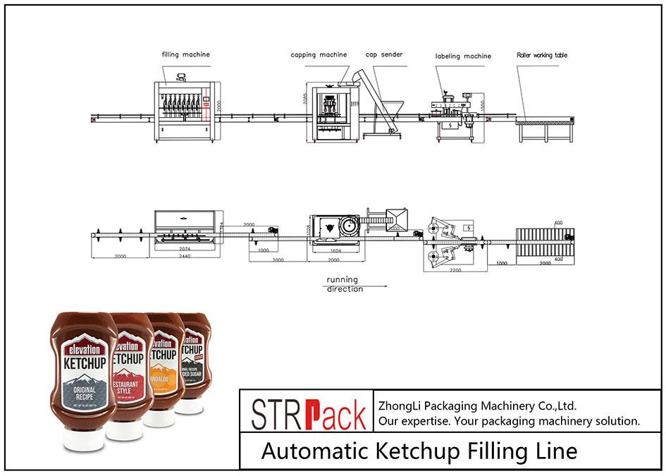 Linya sa Pagpuno sa Ketchup