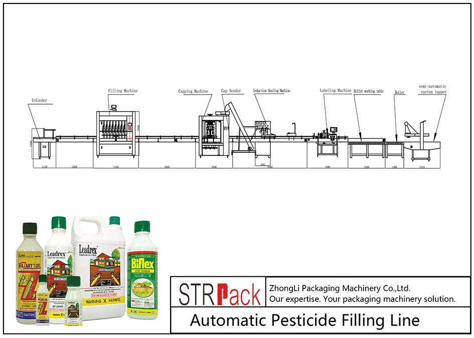 Linya sa Pagpuno sa pestisidyo