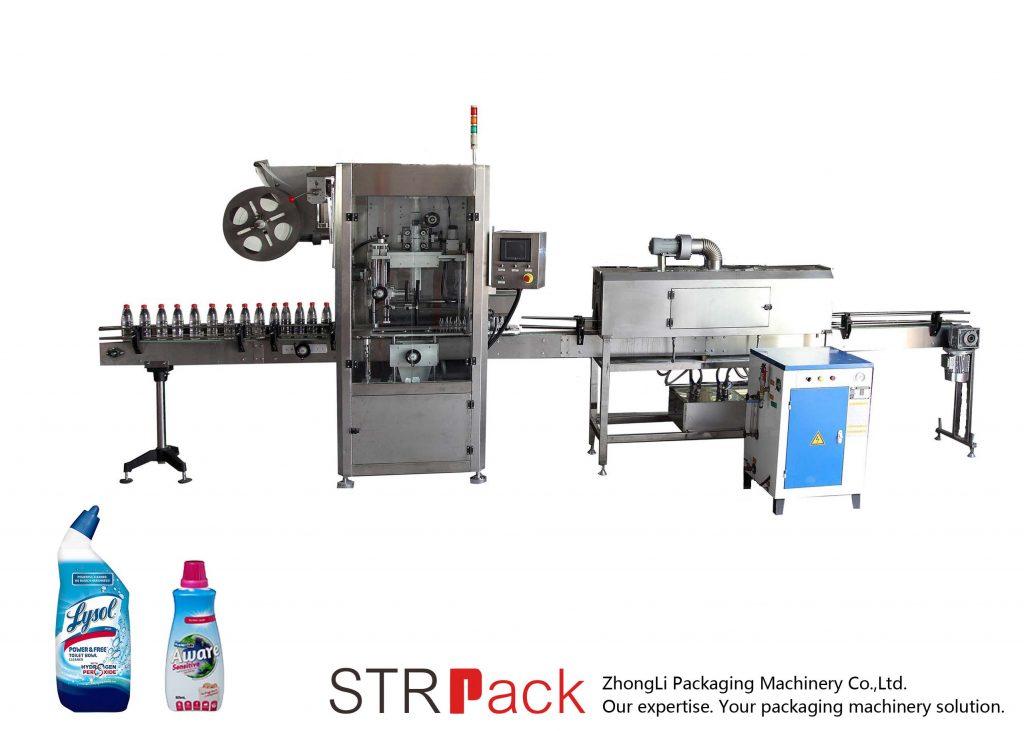 Awtomatikong Pag-uswag nga Sleeve Labeling Machine