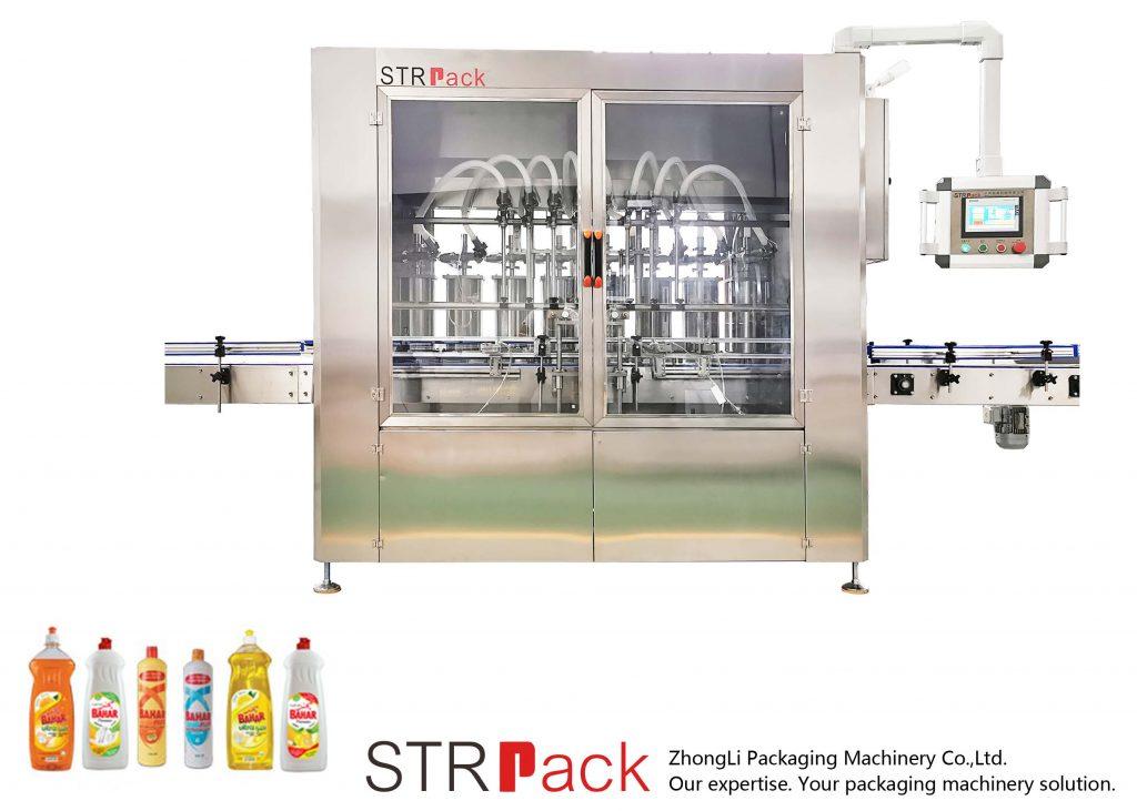Awtomatikong Piston type Liquid Filling Machine