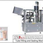 Ang SFS-100 nga plastik nga Tube nga Pagpuno ug Sealing Machine
