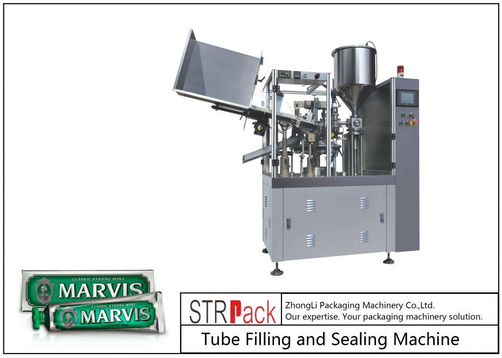 Ang SFS-60 nga plastik nga Tube nga Pagpuno ug Sealing Machine