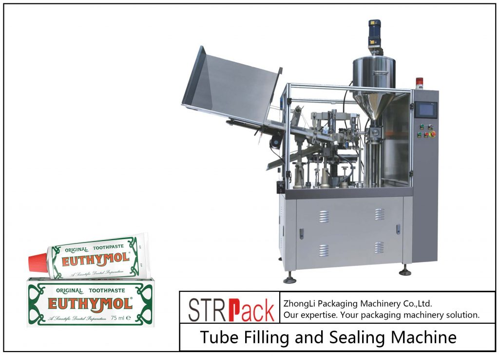 SFS-60Z Metal Tube Pagpuno ug Sealing Machine