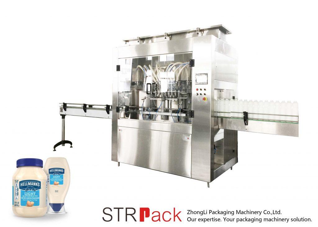 Ang STRRP Rotor Pump Filling Machine