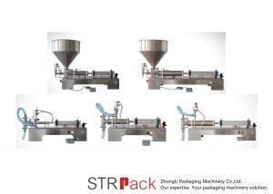 Ang Semi Automatic Piston Liquid Filling Machine